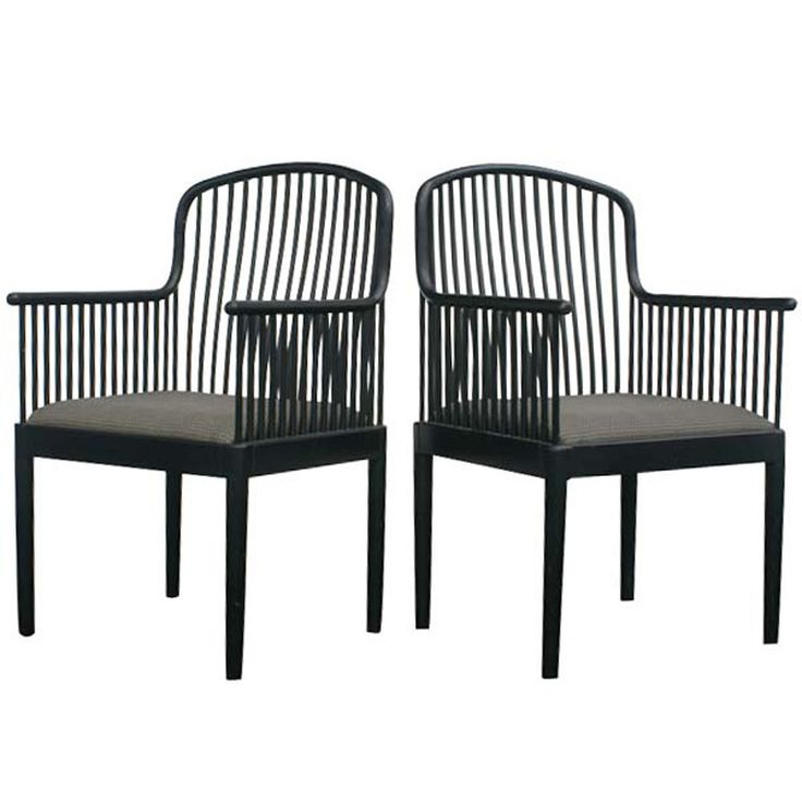 Pair Of Davis Allen For Knoll Exeter Chairs Dining Room