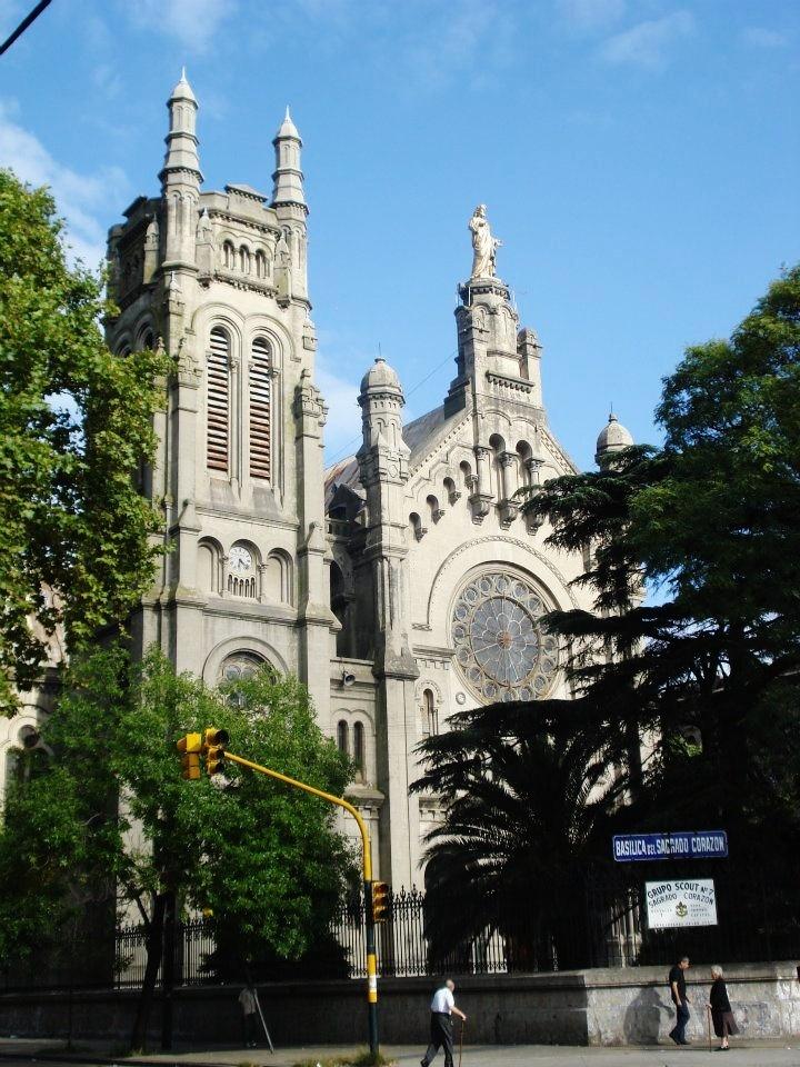 Basílica del Sagrado Corazón, Barracas, Buenos Aires, Argentina.