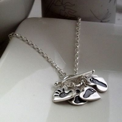 Personalised 'My Family' Charm Necklace from Love Lily Rose.