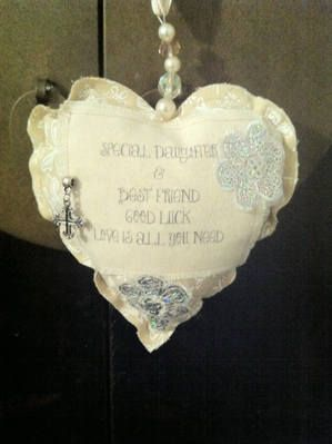 Bespoke Vintage Style Hearts | Handmade | Customised Available | Buy Now