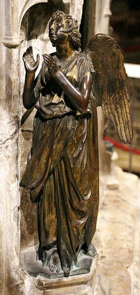 Speranza. Fonte Battesimale del Battistero del duomo di Siena.  1427