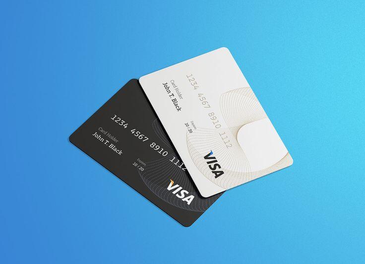 Free Credit Visa Card Mockup Psd Good Mockups Credit Visa Visa Card Business Card Inspiration