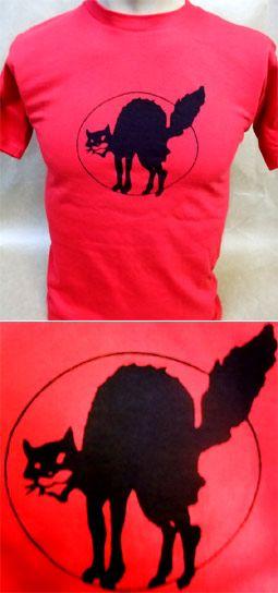 Camiseta - GATO OKUPA 8,90 euros. Muy pocas unidades disponibles. Pedidos: www.barrio-obrero.com