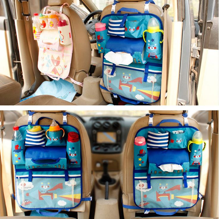 Let's face it kids and clean cars just don't mix. But it's possible to get a handle on the mess with this Backseat Organizer. You can keep your little one's toys, books, water bottles, diapers, wipes and other travel essentials in place while protecting your upholstery at the same time. Get yours at our online store www.babyhedonist.com