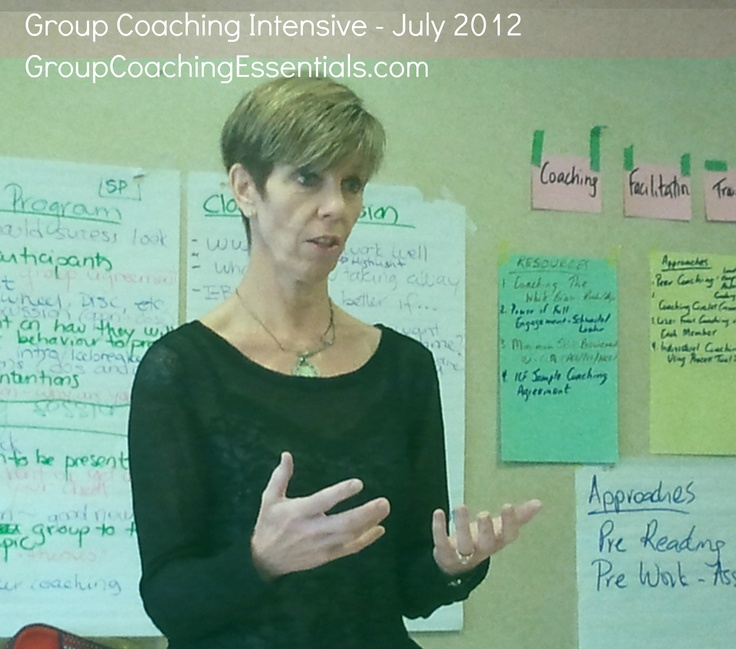 Group Coach in action
