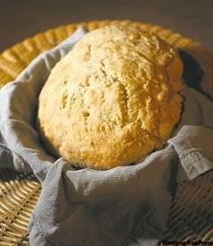 Grant's Old Mill Bannock. This recipe is lighter and sweeter than many traditional versions.