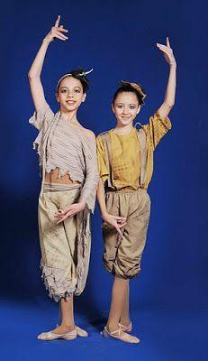 """Jimena Rivas: Ballet """"Peter Pan"""" Niños Perdidos del País de Nunca Jamás"""