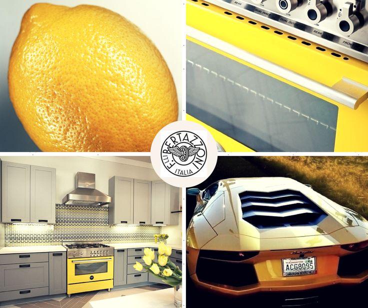 #bertazzoni #giallo #yellow #range #italy #Lamborghini