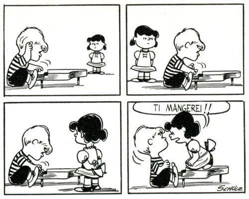 snoopy and charlie brown relationship advice