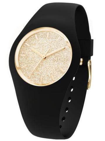 Montre ice glitter black/gold unisex Ice watch vu dans la presse à retrouver sur Selectionnist.com