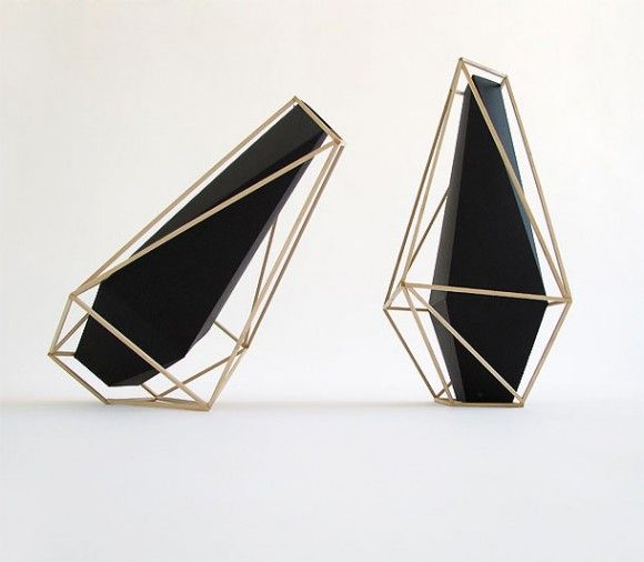 Making an overdose of prisms but here i forgive. Well used geometry, elegant.    -Union Suiza Vases by Martin Azua-