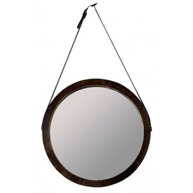 1000 id es sur le th me miroir suspendu sur pinterest for Miroir marron