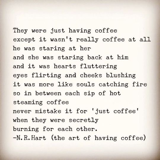 Can't wait to have coffee with my babe. It's the little things in life ❤