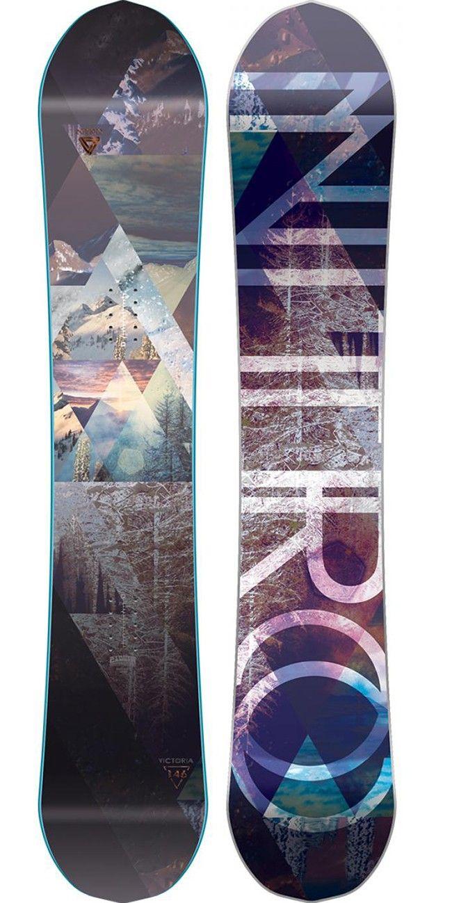 Victoria 146 Snowboard for women by Nitro
