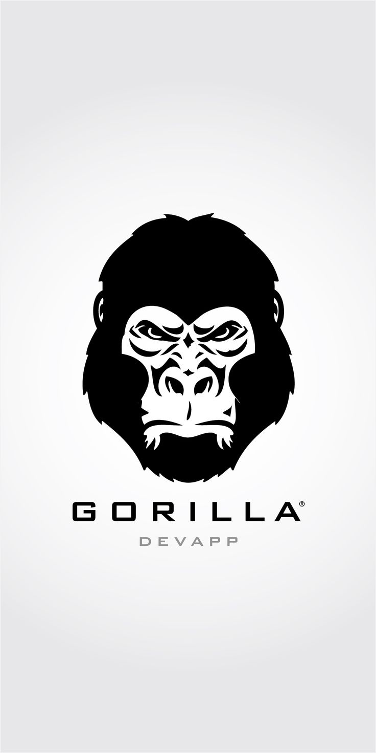 gorilla devapp logo gorilla logo pinterest logos. Black Bedroom Furniture Sets. Home Design Ideas