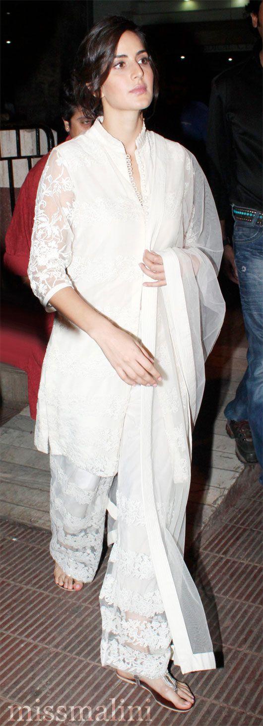 Night Krishnamurthy   s costume Kavita      Katrina Musical   jewelry silver Kaif