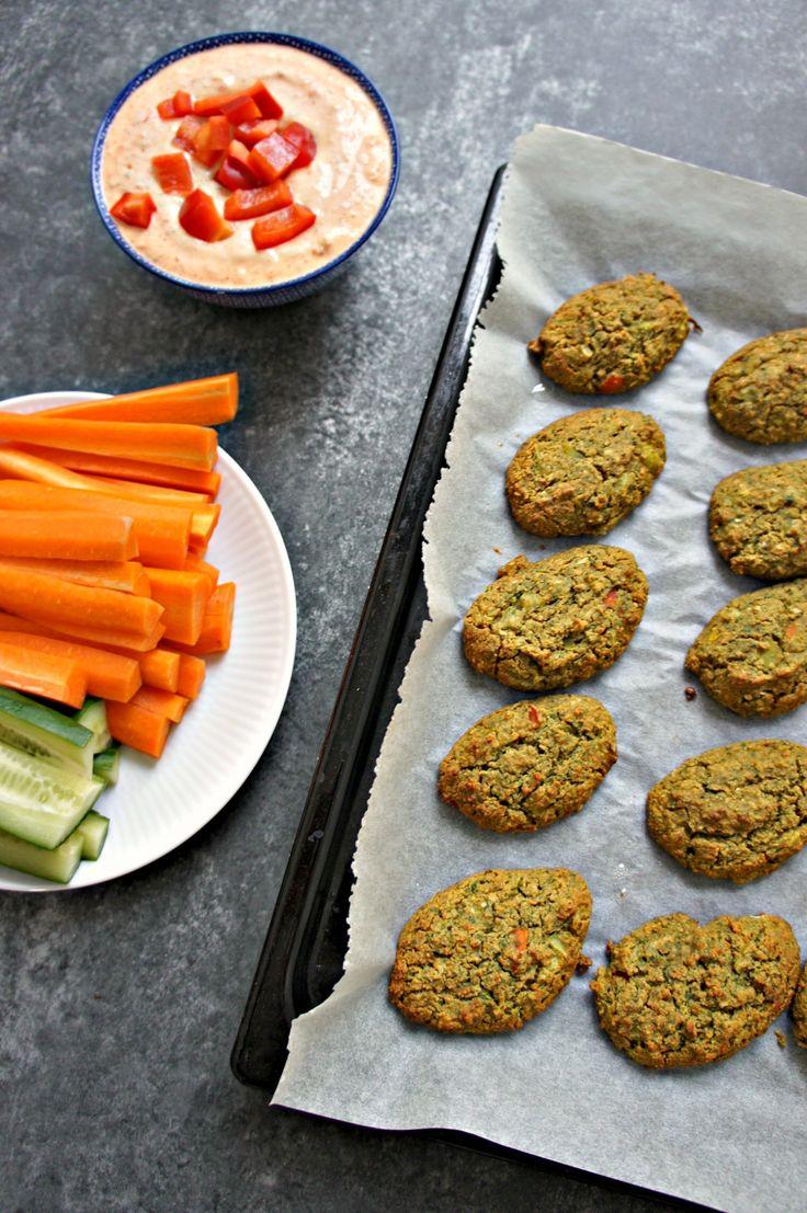 Grønne ovnbagte falafler med cashewcreme - Cathrineyoga - 4