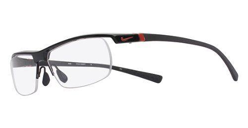 NIKE Eyeglasses 7071/2 002 Gloss Black 57MM Nike.