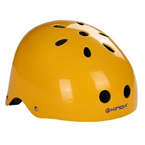 Kids' Cycling Protective Gear - Outdoor Sports Safety Helmet for Rock Climbing Caving Rappelling Head Guard Cycling Head Protective Gear * Continue to the product at the image link.
