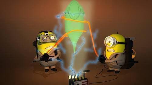 Ghostbusters Minions ♊️ My Minions Pinterest