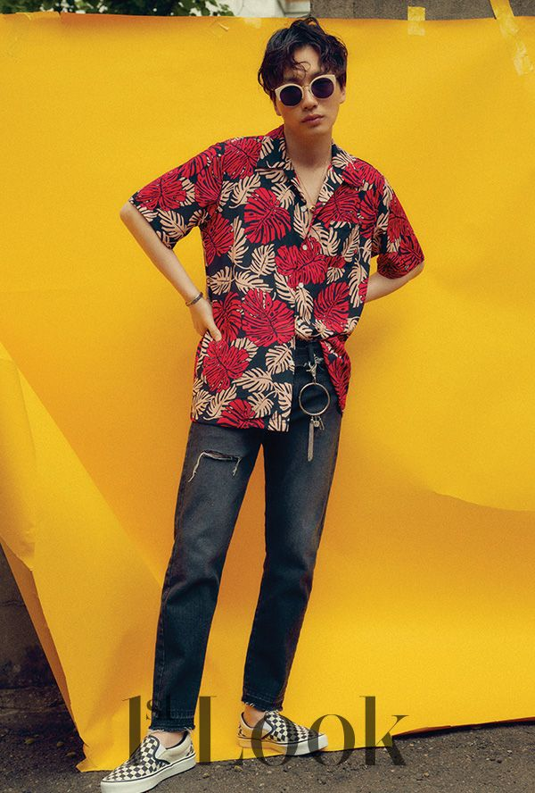 Lee Dong Hwi - 1st Look Magazine vol. 111