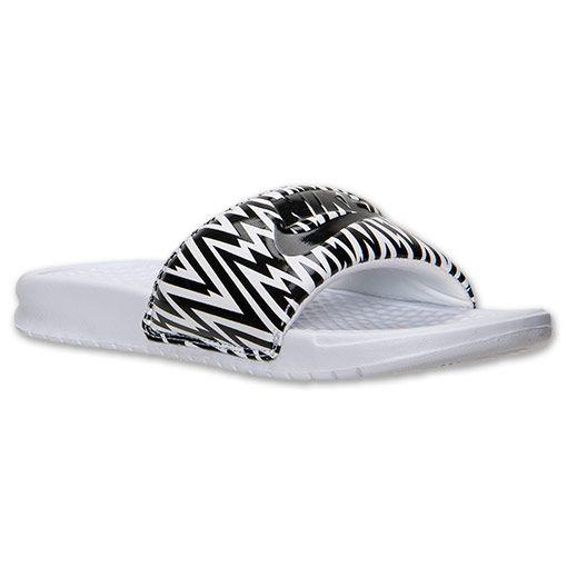 Women's Nike Benassi JDI Print Slide Sandals I NEED THESSSSSSSE!!!!!!!!!!!!!!!!!!