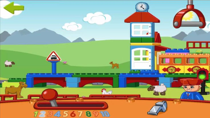 Lego Duplo Trains - Lego Duplo Trem