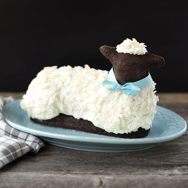 Chocolate lamb cake recipe with images lamb cake