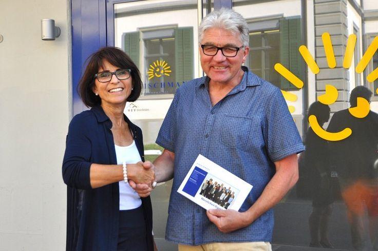 Rolf Braunbarth setzte beim Verkauf seiner Weinfelder Eigentumswohnung auf die Unterstützung von Liegenschaftsexpertin Heidi Capatt.