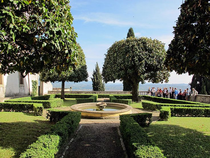 Giardinodi Villa Medici, Fiesole , Firenze