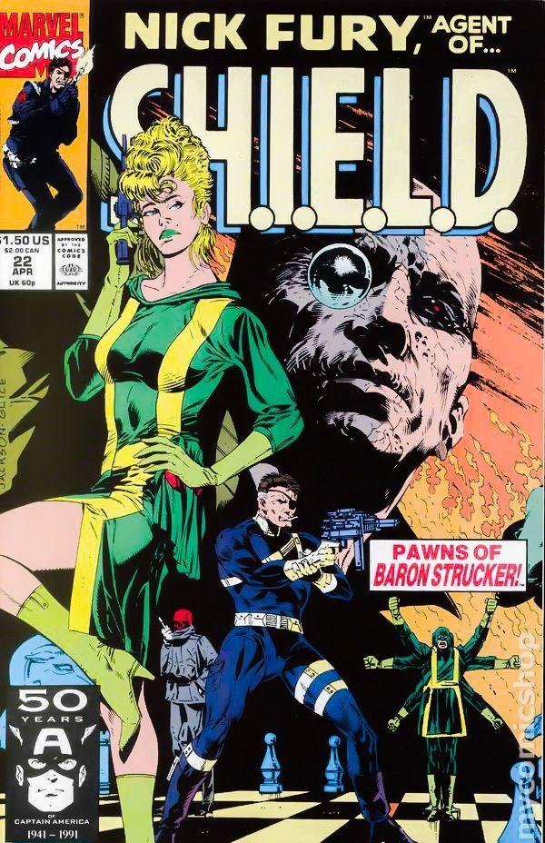 Nick Fury, Agent of SHIELD vol. 3 #22 - Fury vs Baron Strucker