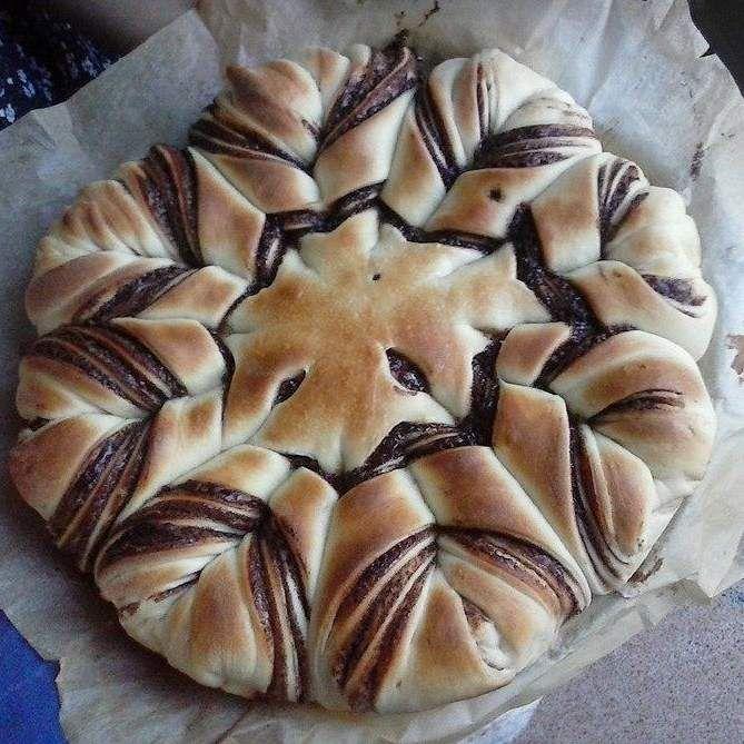 Ricetta FIORE DI BRIOCHE CON NUTELLA pubblicata da ritafede - Questa ricetta è nella categoria Prodotti da forno dolci
