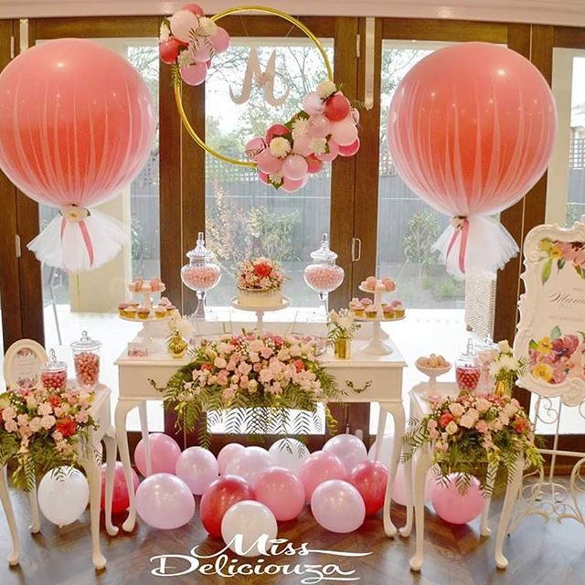 Best 25 tulle balloons ideas on pinterest christening for Ballon wedding decoration