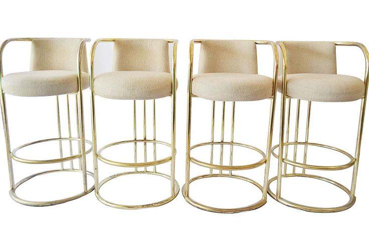 gorgeous bar stools MILO B.