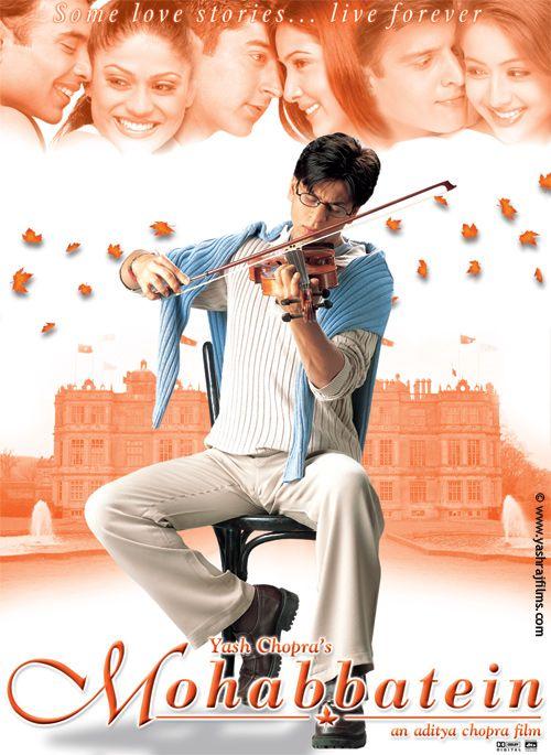 Mohabbatein (2000) | Shahrukh Khan Hindi Movie Posters ...