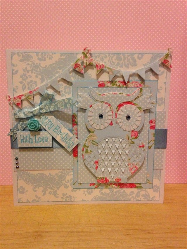Card Making Ideas Owls Part - 15: Happy Birthday | Docrafts.com. Happy Birthday VersesBirthday CardsOwl ...
