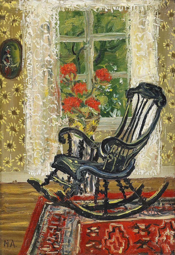 Rocking chair, Mårten Andersson. Swedish, born in 1934.