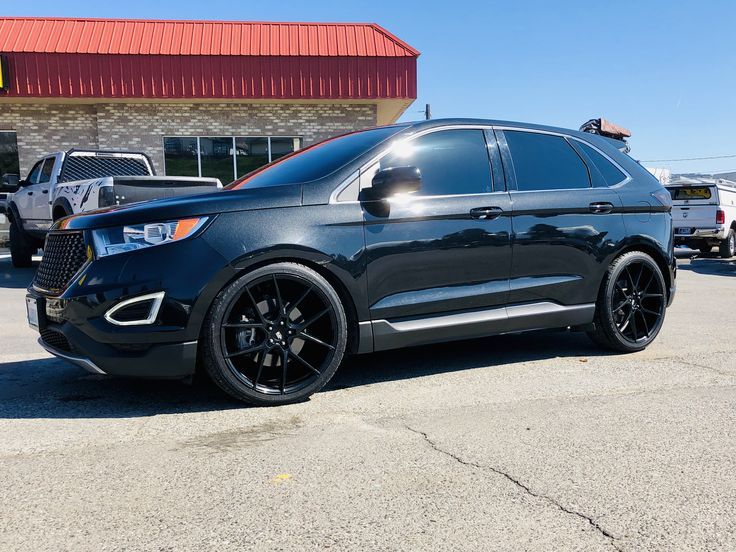Pin on 2015 Ford Edge SEL lowered on H&R fully murdered out