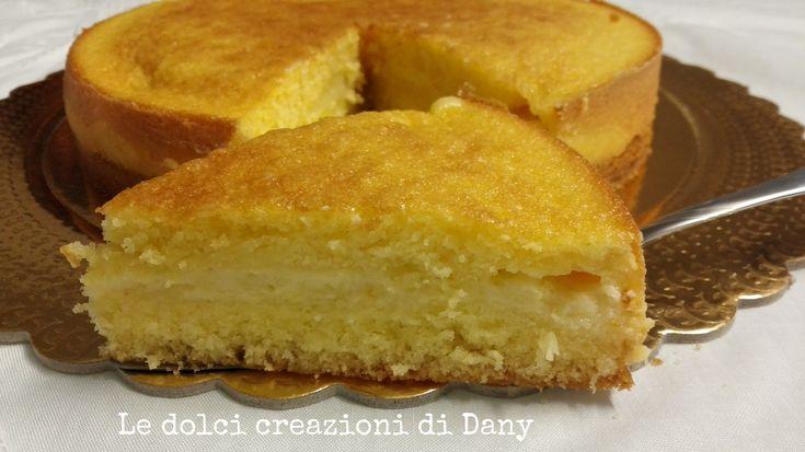 Lemon custard pie | Torta con crema pasticcera al limone | Le dolci creazioni di Dany