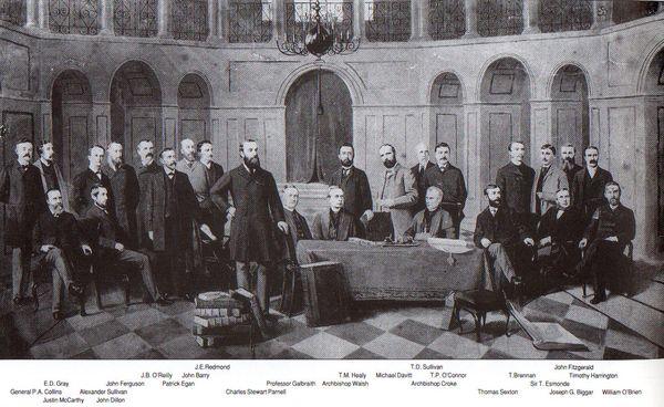 Multitext - Irish Nationalist party under Charles Stewart Parnell.