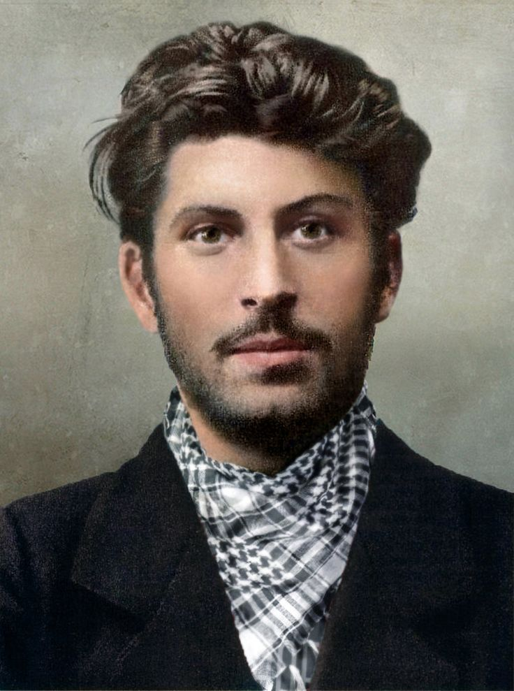 Stalin young (colorized by klimbims)