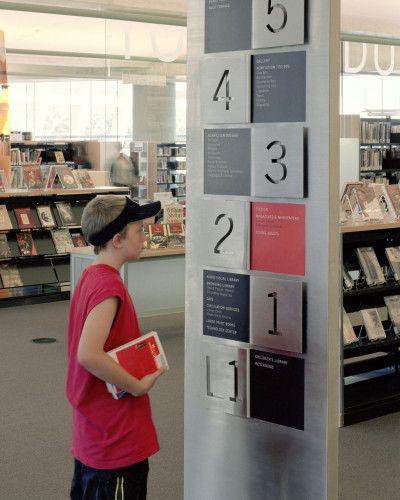 Salt Lake City Public Library Signage System