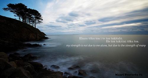 Maori Proverbs www.warriorteambuilding.com