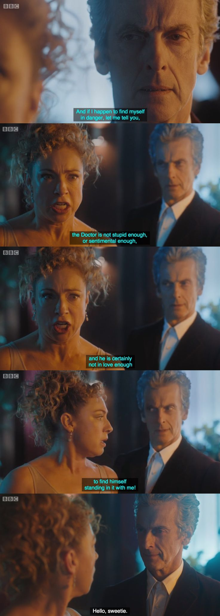 The Husbands of River Song - Doctor Who Christmas Special 2015 ❤️❤️❤️ this scene broke me