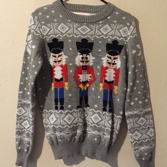 Tipsy Elves Christmas Sweater size Small Tipsy Elves Nutcracker Christmas Sweater Size Small. Perfect for a ugly sweater party. Tipsy Elves Sweaters Crew & Scoop Necks