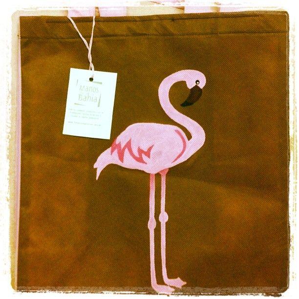 #flamingo #ecobag #handpainted #reusable #bag