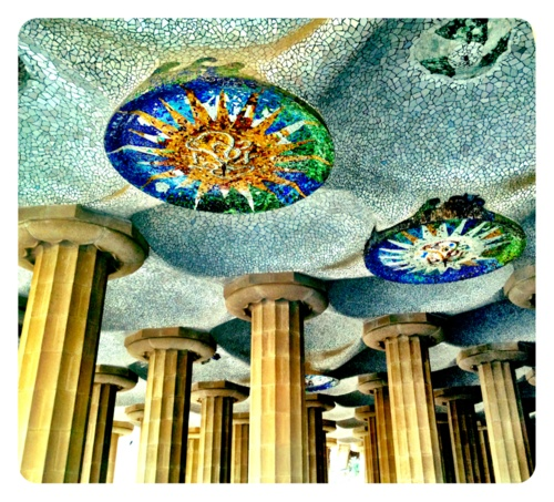 park guell - I fell in love with Gaudi in Barcelona.