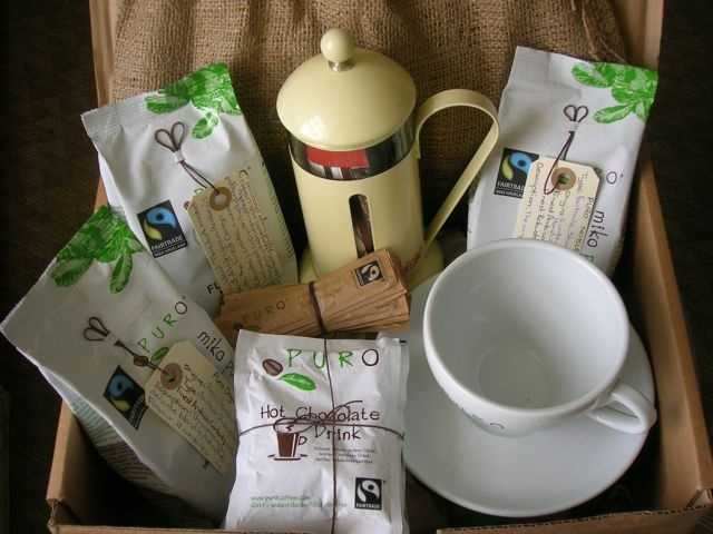 Chocolate Log Blog: Puro Fairtrade Coffee - a Review & Giveaway #23