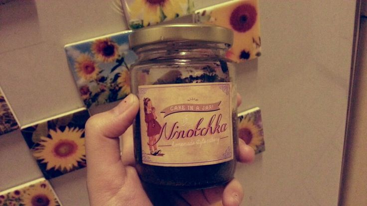Oreo cake in jar from Ninotchka ♡♡