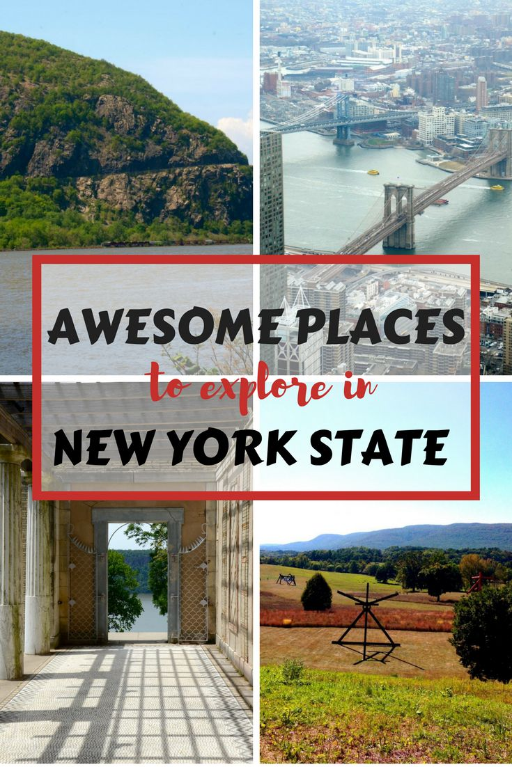 People often associate the state of New York with New York City, but it is a big state with so much more! Think mountains, lakes, river life, country towns and farm land in addition to big city culture. Our travel wish list for New York is always expanding, we love our home state! #NewYork #travel #familytravel